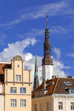 Tallinn Church Royalty Free Stock Photo