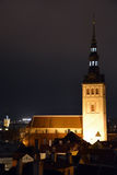 Tallinn, church Saint Nicolas Royalty Free Stock Images