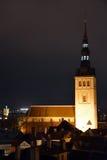 Tallinn, church Saint Nicolas Royalty Free Stock Images