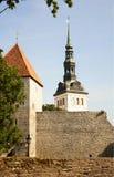 Tallinn. The Church of St. Nicholas. Royalty Free Stock Photography
