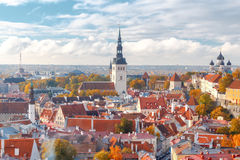 Tallinn Cidade velha Fotos de Stock Royalty Free