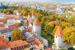 Tallinn Cidade velha Fotografia de Stock