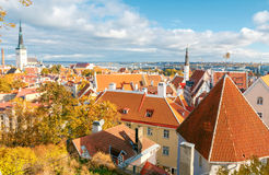 Tallinn Cidade velha Imagem de Stock