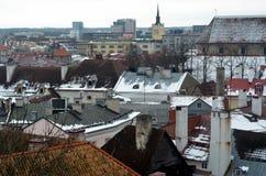 Tallinn Città Vecchia, Estonia fotografia stock