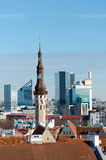 Tallinn city. Royalty Free Stock Image