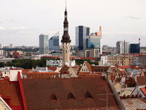 Tallinn city view Royalty Free Stock Images