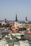 Tallinn City. View From Radisson Hotel,Estonia Stock Images