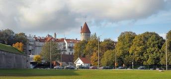 Tallinn City Wall Tower Royalty Free Stock Photos
