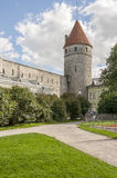 Tallinn City Wall Tower. Estonia,Autumn 2014 Stock Image
