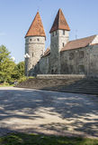 Tallinn City Wall Tower Stock Photos