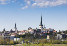 Tallinn cityscape Stock Photography