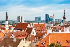 Tallinn cityscape. Estonia Stock Photography