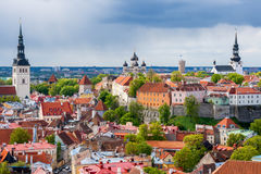 Tallinn cityscape. Estonia Stock Photography