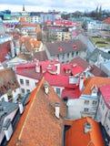 Tallinn cityscape Stock Images