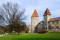 Tallinn, ciudad vieja fotos de archivo