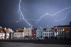 Tallinn - die Hauptstadt von Estland Lizenzfreie Stockbilder