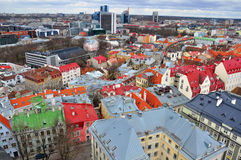 Tallinn downtown Stock Images
