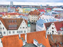 Tallinn downtown Stock Photography