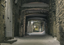 Tallinn en hiver Photo libre de droits
