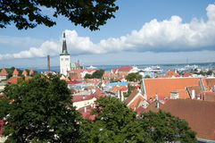 Tallinn, Estónia foto de stock royalty free