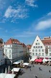 Tallinn, Estónia. Arquitectura da cidade foto de stock royalty free