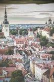 Tallinn, Estônia na cidade velha Foto de Stock Royalty Free