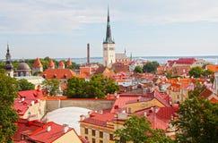 Tallinn Estland Royalty-vrije Stock Afbeeldingen