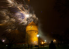 Tallinn Estland Royaltyfri Fotografi