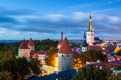 Tallinn Estland arkivfoton