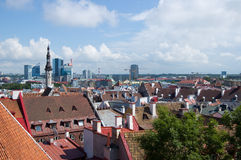 Tallinn, Estland. Lizenzfreie Stockfotos