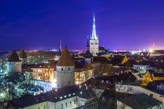 Tallinn, Estland Stock Afbeelding