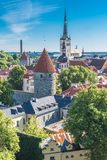 Tallinn in Estonia immagine stock