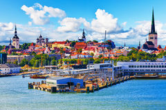 Tallinn estonia fotografia stock