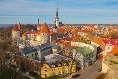 Tallinn, Estonia Fotografie Stock Libere da Diritti
