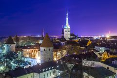 Tallinn, Estonia stock image