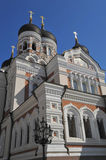 Tallinn Estonia Alexander nevsky cathedral Stock Photo