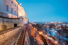 Tallinn, Estonia. Building Of Government Of Republic Of Estonia, Stock Image