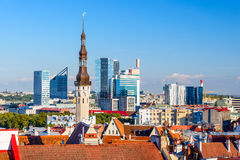 Tallinn Estonia Cityscape Royalty Free Stock Photos