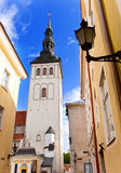 Tallinn, Estonia. Dome cathedral-the oldest church of Tallinn. Royalty Free Stock Photos