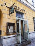 Tallinn. Estonia Elevant restoran Royalty Free Stock Image