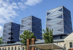 Tallinn, Estonia, Europa, distretto industriale dell'ex rotermann Immagine Stock Libera da Diritti