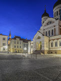 Tallinn estonia, europe, castle square Royalty Free Stock Photo
