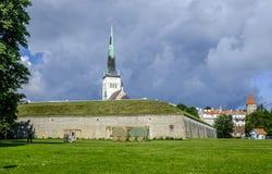 Tallinn, estonia, europe, the church of st. olav Royalty Free Stock Photo
