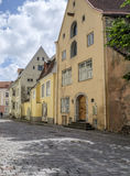 Tallinn, estonia, europe, a glimpse of the historic center of the lower town Royalty Free Stock Photo