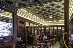 Tallinn, estonia, europe, the historical cafés of the low town center Stock Photo