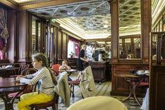 Tallinn, estonia, europe, the historical cafés of the low town center Stock Photography