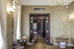 Tallinn, estonia, europe, the historical cafés of the low town center Stock Image