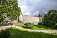 Tallinn, estonia, europe, the medieval fortifications Royalty Free Stock Images