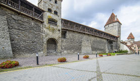 Tallinn, estonia, europe, the medieval fortifications Royalty Free Stock Image
