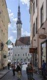 Tallinn, estonia, europe, the medieval town hall Royalty Free Stock Image